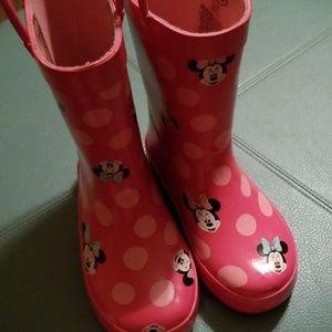Minnie Mouse rain boot 10